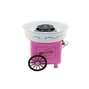 BMGIANT Cotton Candy Machine Vintage Hard&Sugar-Free,Sugar Floss Mini Simple Cotton Candy Machine Cotton Candy Maker