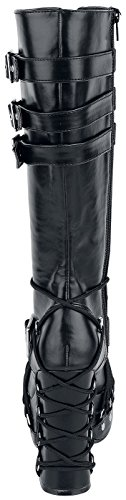 black Demonia 206 Charade Boots Black qUfO7w