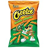 Cheetos Crunchy Cheddar Jalapeno Cheese Flavored Snacks, 2 Ounce (Pack of 64)