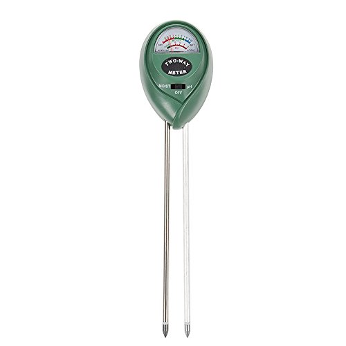 Review Alotpower 2-in-1 Soil Moisture Sensor Meter and PH acidity Tester, Plant Tester for Garden, F...
