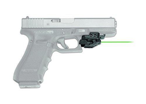 Pistol Laser Scope - Crimson Trace CMR-206 Rail Master Universal Green Laser Sight