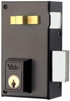 Yale, 56A70DHP, Cerradura de Sobreponer Estándar, Hierro Pintado ...