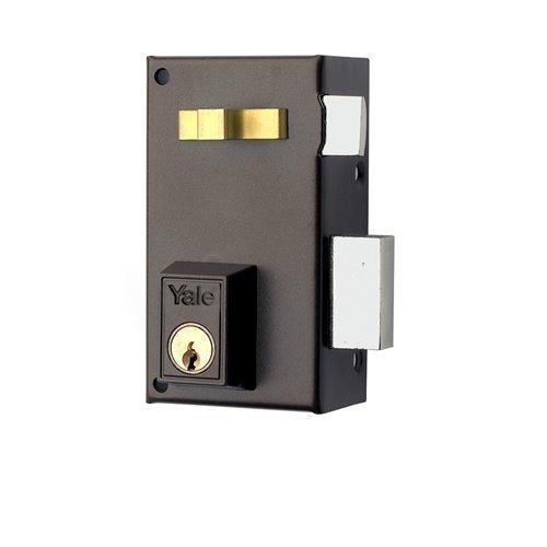 Yale, 56A70DHP, Cerradura de Sobreponer Estándar, Hierro Pintado, 70 mm, 56A / Derecha
