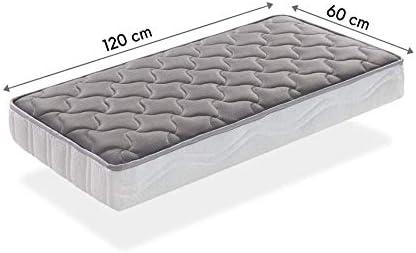 SleepAA Colchon de cuna 120x60 fibra de coco y muelles Fabricado en España (120x60 cm): Amazon.es: Juguetes y juegos