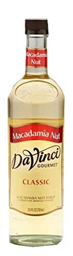 DaVinci Gourmet Classic Flavored Syrups Macadamia Nut 750 mL Da Vinci Macadamia Nut