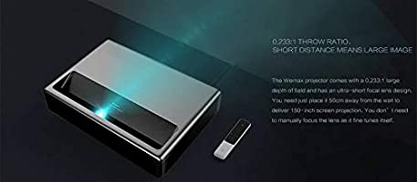 Amazon.com: Mi Laser Ultra-Short Throw Projector 150 inch ...
