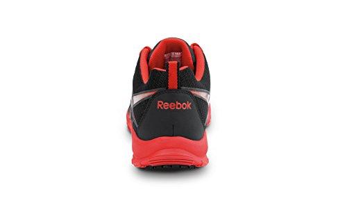 Reebok Beamer Maxtrax Mens Antiscivolo Sneaker Nero / Rosso