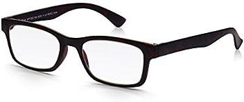 7d366a7dca Read Optics Reading Glasses for Men and Women Matt Dark Brown Tortoiseshell  Plastic Super Lightweight Rectangle