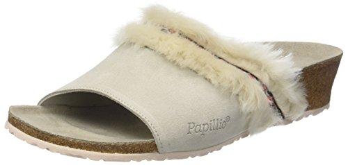 Blanco Mujer Mules White Para cozy Off Amber Papillio qwvHII