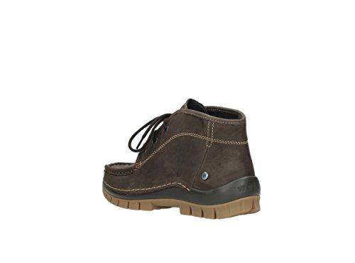 Wolky Womens 3204 Jewel Leather Sandals 530 braun geöltes Leder