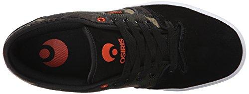 Zapatillas De Skate Osiris Hombres Decay Black / Camo