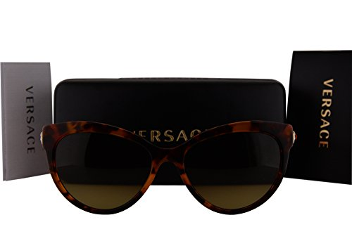Versace VE4338 Sunglasses Havana Orange w/Brown Gradient Lens 524413 VE - Sunglasses Prescription Versace