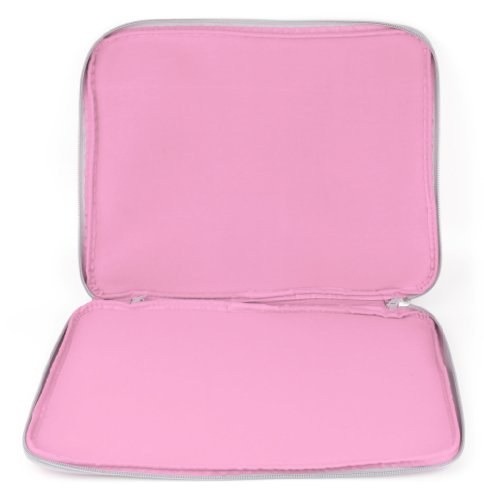 Pink 'Travel' Sleeve Case in Shock-Absorbing & Water-Resistant Neoprene for The Lenovo Miix 520 - by DURAGDGET by DURAGADGET (Image #3)
