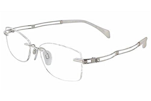 Charmant Line Art Eyeglasses XL2069 XL/2069 WP1 White Rimless Optical Frame 51mm