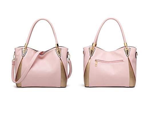 Americane E Moda Lady Signora Europee Eshoping Borse Tracolla Pink Bag Messenger Per Ms Donna A n1qxx0gwAf