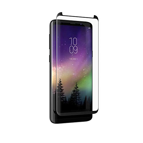 ZAGG InvisibleShield Glass Curve - Screen Protector Made for Samsung Galaxy S9 Plus - Clear (Invisibleshield Glass Curve For The Samsung Galaxy S8)