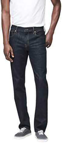 Aeropostale Men's Slim Straight Dark Rinse Wash Reflex Jean