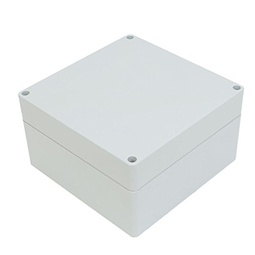 uxcell Dustproof IP65 Plastic Electrical Junction Box DIY Enclosure Case 160mm x 160mm x 90mm