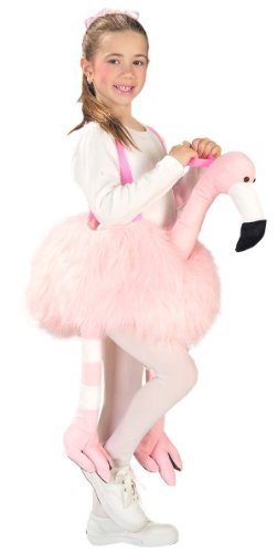FGFK Halloween Costumes by HCFS Ride-A-Flamingo Stuffed Child Costume]()