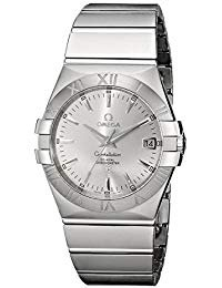 Omega Constellation Co-Axial Stainless Steel Automatic Mens Watch Silver Dial Date 123.10.35.20.02.001 - Omega Constellation Coaxial