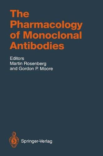 The Pharmacology Of Monoclonal Antibodies  Handbook Of Experimental Pharmacology