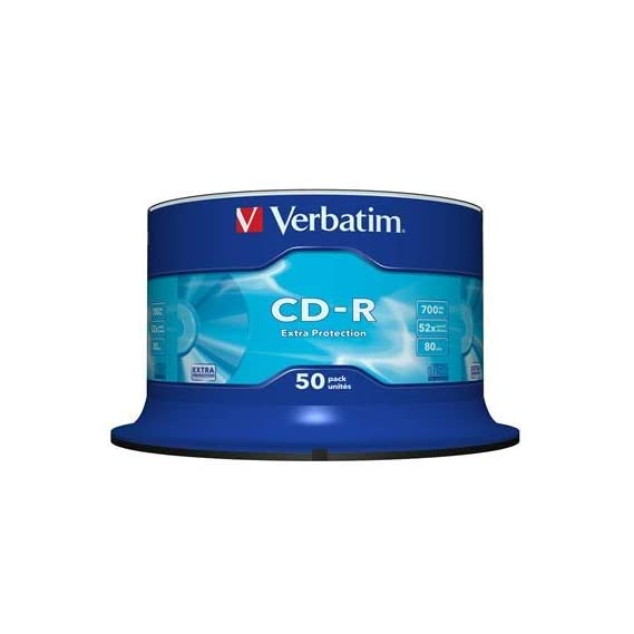 Blank Pack of 10 Cd's 700MB for Data Write/Movie/Photos etc.