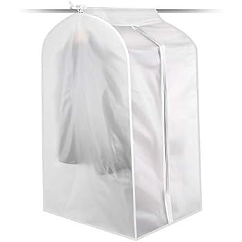 Amazon Com Translucent Garment Bag For Storage