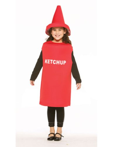 Ketchup Child Size 7 To 10 (Ketchup Child Costumes)