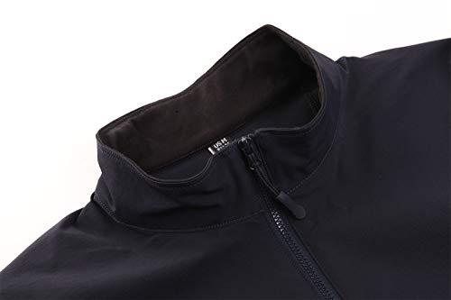 KEFITEVD T-shirt tactique pour homme avec fermeture éclair 1/4 - Avec poches sur les manches - Fermeture Velcro - Pour… 2