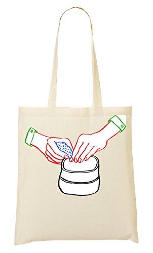 Make Up Powder Handbag Shopping Bag