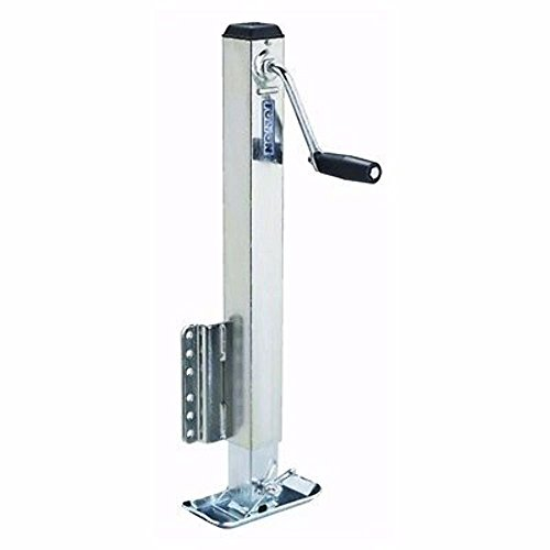 Fulton HD25000101 Bolt-On Trailer Tongue Jack with Drop Leg - 2500 lb. Weight Capacity by Fulton