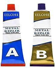 2 flessen 20/50 / 100g Industriële hittebestendigheid Koudlasmaterialen Metaalreparatiepasta Magische laslijm, reparatie ijzer Staal Metaal met deze geweldige krachtlijm