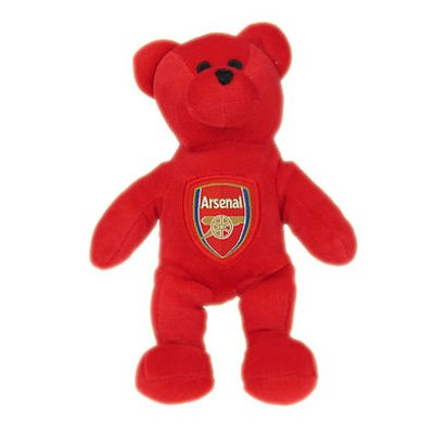 Arsenal Soccer Club Mini Teddy Bear