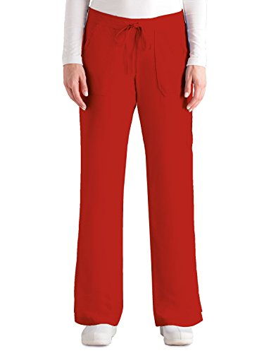 Grey's Anatomy 4245 Cargo Pant Hot Tamale (Pocket Drawstring Pant)