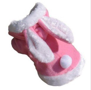 Pink Small Rabbit Easter Bunny Dog Cat Puppy Halloween Costume Clothes Pet Apparel Rabbit Dress Up  sc 1 st  Amazon UK & Pink Small Rabbit Easter Bunny Dog Cat Puppy Halloween Costume ...