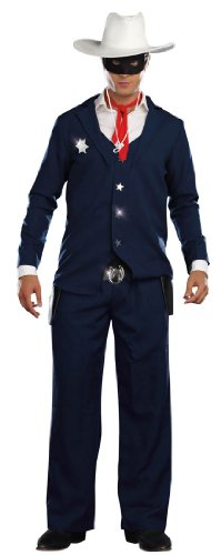 Lone Cowboy Costume - Medium - Chest Size 38-40 (Lone Cowboy Adult Costume)