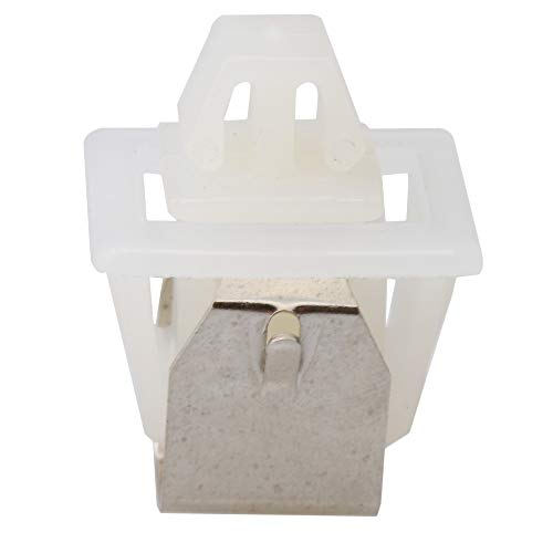 Yibuy 19mm Length White Dryer Door Latch Part Replacement 279570 for Whirlpool by Yibuy (Image #2)