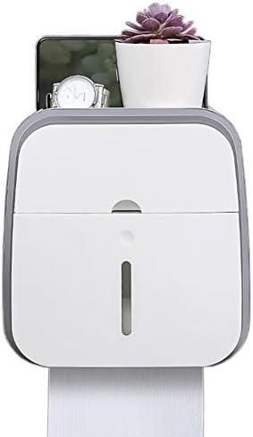 クリエイティブトイレットティッシュボックス、トイレットペーパーホルダー、引出トレイ、パンチのない防水ティッシュホルダー、トイレットペーパーボックス