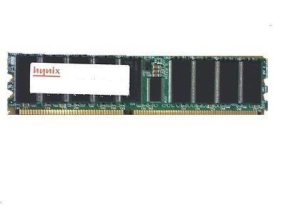 - Hynix 2Gb Ddr Pc-2100 266Mhz Ecc Registered Cl2.5 2.5V Dual Rank 184P