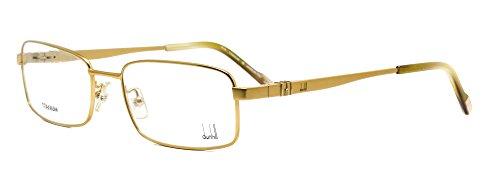 Eyeglasses Dunhill DU10002 08/09 titanium gold frame, - Dunhill Glasses