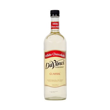 - DaVinci Gourmet White Chocolate Flavored Syrup 2 Bottles