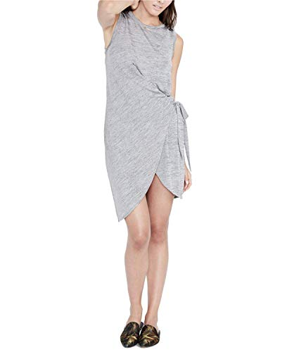 Rachel Rachel Roy Womens Draped Wrap Dress Heather for sale  Delivered anywhere in USA
