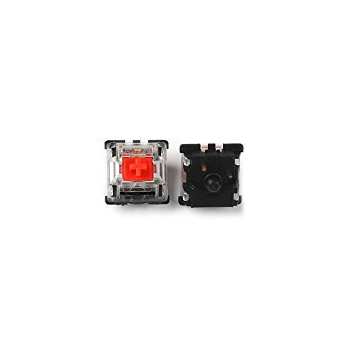 Gateron MX Switch 3 pin and 5 pin Transparent Case Black Red Green Brown Blue Clear Switches for Mechanical Keyboard Cherry MX Compatible