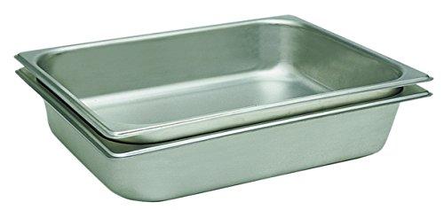 (Update International STP-332 S/Steam Table Pan, Third Size, 2 1/2 in Deep, 304 S)