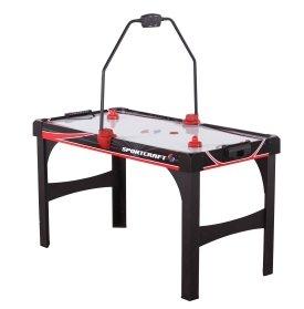 Amazoncom Sportcraft Excelerator Turbo Hockey With Dual - Sportcraft turbo air hockey table