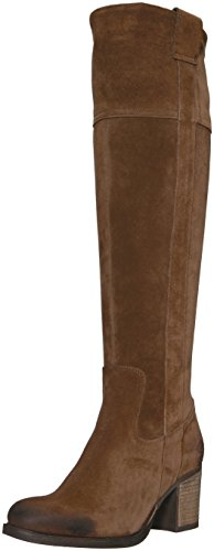 (Bos. & Co. Women's Horton Knee High Boot, Tan Oil Suede, 39 M EU (8-8.5 US))