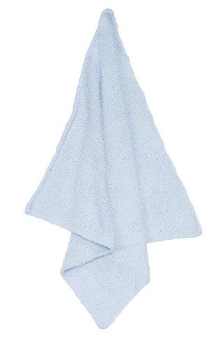 Angel Dear Light - Angel Dear Chenille Blanket, Light Blue