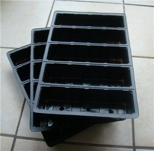 3 x 5-Cell Seed Tray Cavity Inserts
