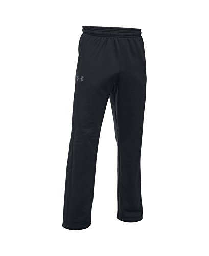 Under Armour Men's Storm Armour Fleece Pants, Black/Black, Medium by Under Armour (Image #3)