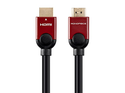 Monoprice Select Metallic Series High Speed HDMI Cable with Ethernet, 6ft